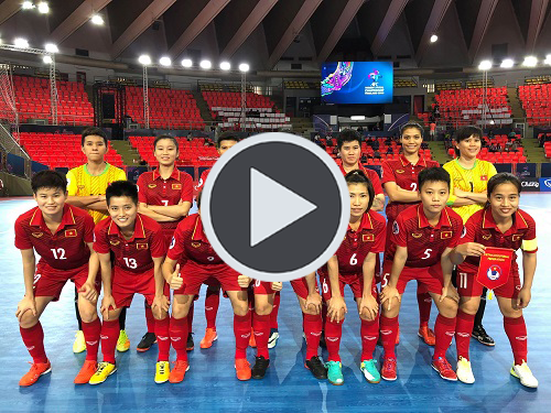 Video: Highlight Việt Nam 0-5 Iran ( AFCW Futsal Championship 2018)