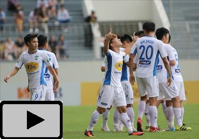 Video: Highlight HAGL 3-2 Sài Gòn (Vòng 15 V-League 2018)