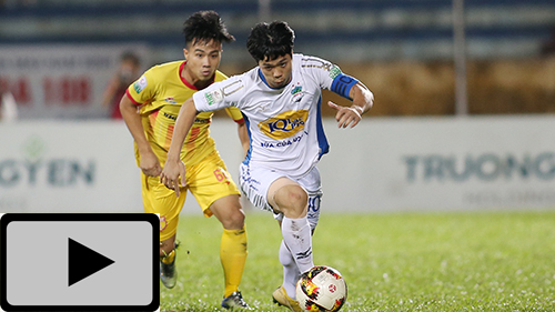 Highlights: Nam Định 0-2 HAGL (Vòng 24 V.League 2018)