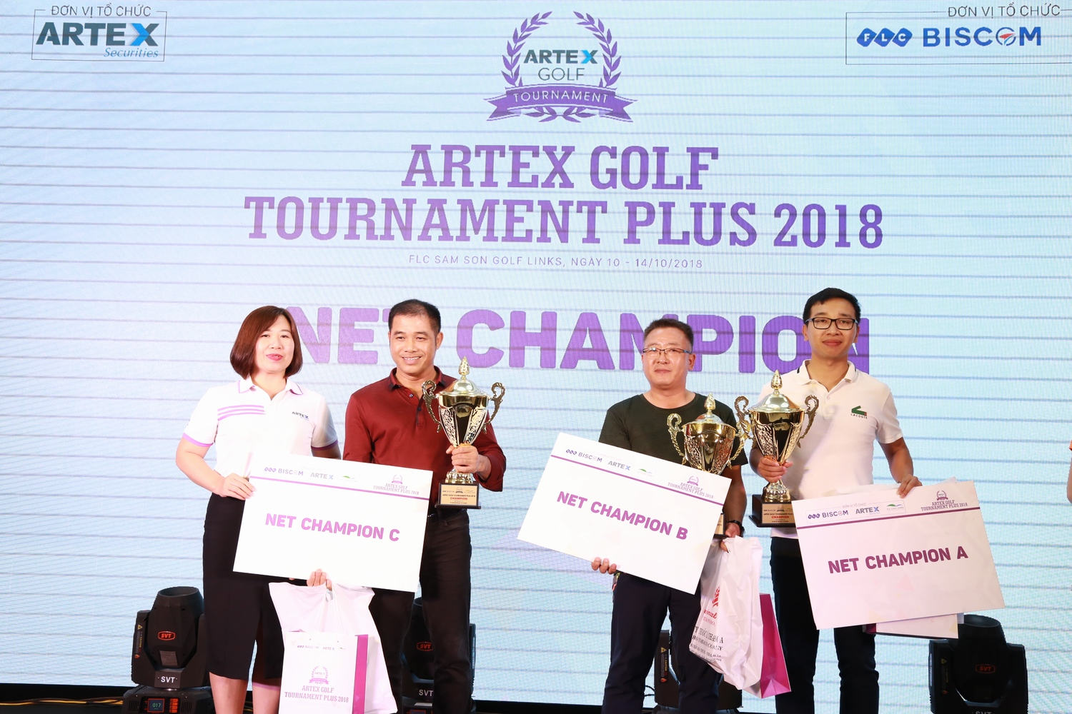 Golfer Park Jea Huyn vô địch giải Artex Golf Tournament Plus 2018