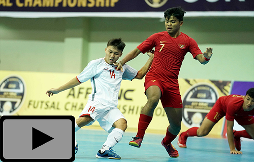 Highlight: Việt Nam & Indonesia ( AFF Futsal Championship )