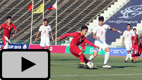 Highlights: U22 Việt Nam & U22 Philippines (U22 Đông Nam Á 2019)