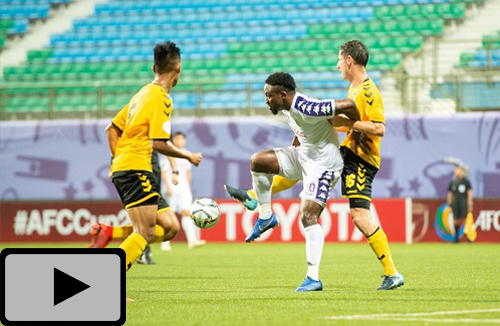 Highlight: Tampines Rovers & Hà Nội (AFC Cup 2019)