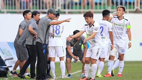 HAGL đang gặp may ở V.League 2019?