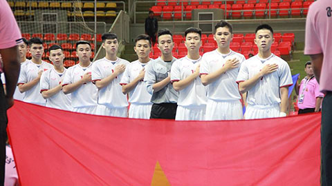 Lịch thi đấu của U20 Futsal Việt Nam tại VCK U20 Futsal châu Á 2019