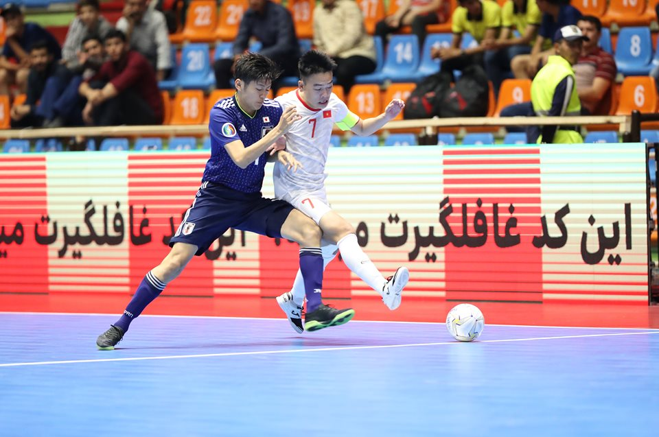 U20 Việt Nam tiến tới vòng loại trực tiếp VCK U20 Futsal châu Á 2019