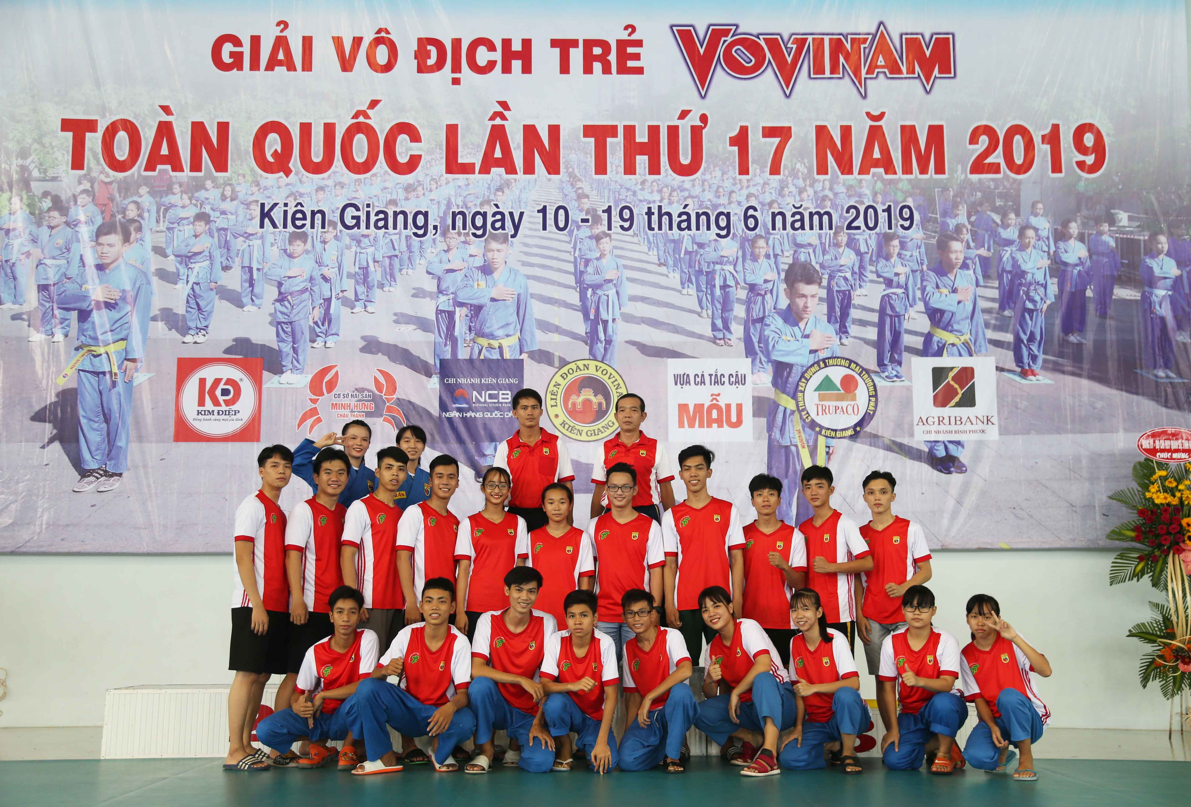 Giải VĐ trẻ Vovinam toàn quốc lần thứ 17-2019: TP.HCM xây chắc ngôi đầu